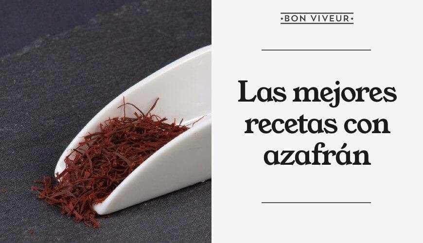 Las mejores recetas con azafrán