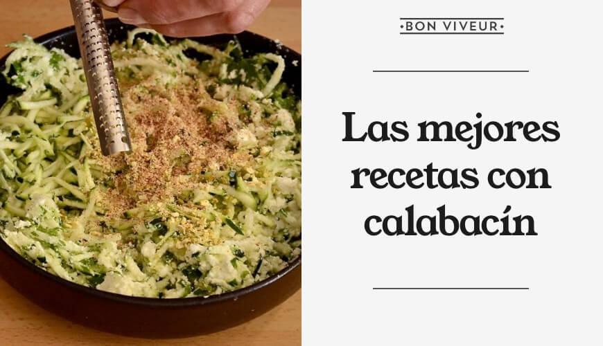 Las mejores recetas con calabacín