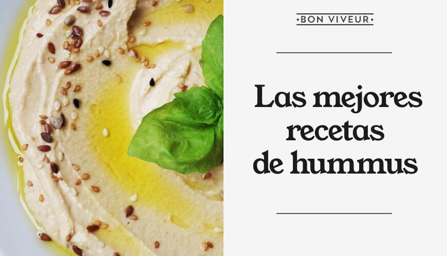 Las mejores recetas de hummus