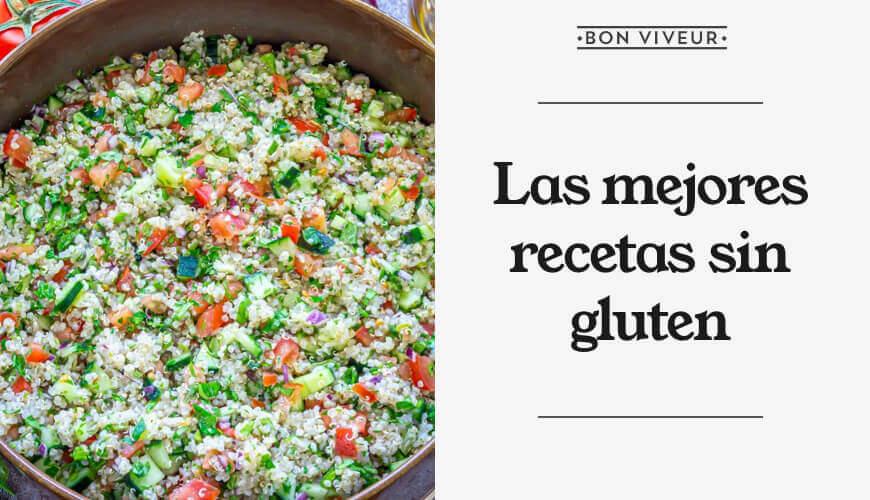 Las mejores recetas sin gluten