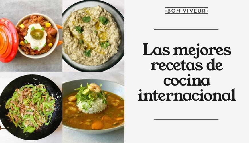 Recetas de cocina internacional